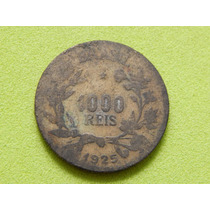 Moeda De 1000 Réis De 1925 - Brasil - (ref 1308)