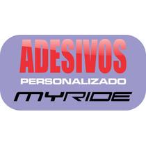 Adesivo Myride, My Ride, Carro Rebaixado Socado Dub