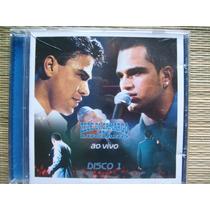 Cd Zezé Di Camargo & Luciano Disco 1 Ao Vivo 15 Músicas 2005