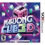 produto Jogo Mahjong Cub 3d Original E Lacrado  Para Nintendo 3ds