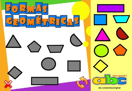 Cd Infantil Educativo Interativo - Formas Geométricas