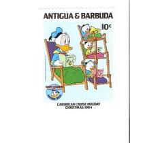 Lindo Selo Da Antigua & Barbuda - Donald - Vejam A Foto !!!