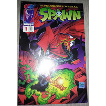 Nova Revista Mensal Spawn Nº 1 Image Editora Abril 1996