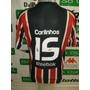 Camisa São Paulo # 15 Carlinhos Paraiba Oficial De Jogo