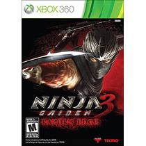 Ninja Gaiden 3 Razor`s Edge. Novo. Xbox 360