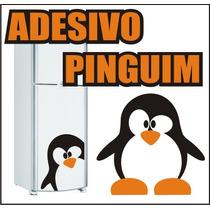 Adesivo Geladeira Pinguim Vários Modelos Menor Frete-grandes
