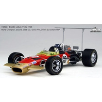 Miniatura Exoto Lotus Ford 49b Graham Hill 1968 #10 1/18