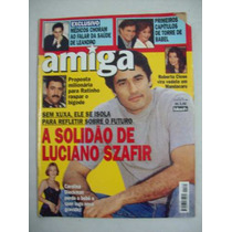 Revista Amiga - Szafir Sem Xuxa, Roberta Close - N1464