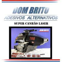 Adesivos Para O Tanque Super Canhão Laser Comandos Em Ação