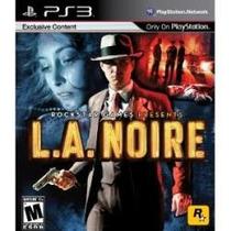 Jogo Midia Fisica La L.a Noire Rockstar Para Playstation Ps3
