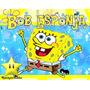 Kit Bob Esponja + Desenha Convites + Cartões E Mais #01