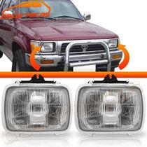 Farol Hilux Pick Up Sr5 92 - 00 L200 L300 92 - 98 Nissan D21