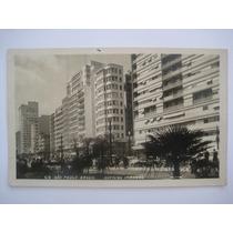 Foto Cartão Postal Antigo - Avenida Ipiranga São Paulo