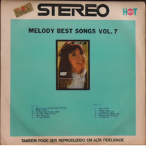 Lp (061) - Orquestras - Melody Best Songs Vol. 7