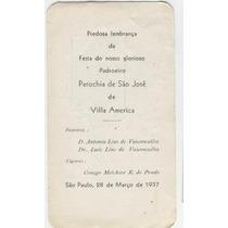 Vila América - São Paulo -1937:*luiz Lins De Vasconcelos