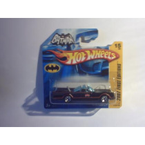 Hotwheels 2007 Batmóvel Tv 1966 - Batmobile Lacrado - 15/156