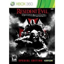 Jogo Resident Evil Operation Raccoon City Special Ed Xbox360