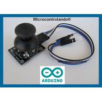 Joystick Controle Botão +cabo+exemplo Arduino Pic Joy Stick