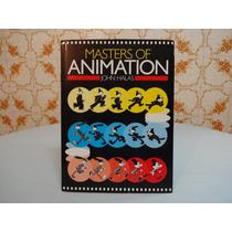 Livro Masters Of Animation Usado Excelente Condição Perfeito