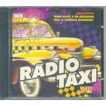 Cd Rádio Táxi - Vii - 1997 - Autografado Por Gel Fernandes