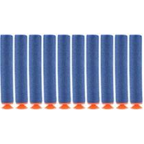 50 Dardos Nerf Azuis Com Ventosas - No Brasil