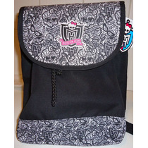 Monster High Bolsa Mochila Costas Saco Skullete Caveiras