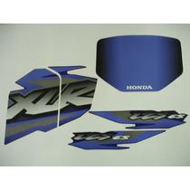 Adesivo Xlr125 2002 Es Azul, Faixa Original Completa