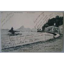 Postal Rio De Janeiro 1914 - Praia De Icarahy