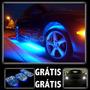 Mega Neon Led Externo: 8 Barras+pingo Xenon+pedaleira Grátis