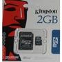 Memória Micro Sd Sdhc 2 Em 1 Kingston 2 Gb Celular 2gb