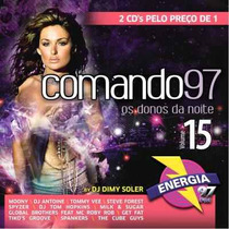 Cd *comando 97 -os Donos Da Noite - Vol 15 * ( 2 Cds )