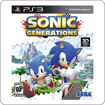 Sonic Generations - Ps3 - Playstation 3 - Novo Lacrado