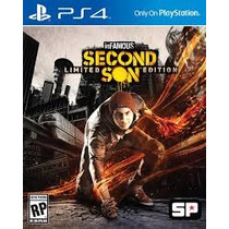 Infamous Second Son + Metal Gear Solid V Ps4 Todas As Dlcs