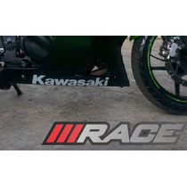 Par De Adesivo Para Carenagem Inferior Kawasaki Ninja 250 R