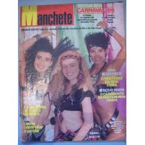 Revista Manchete - Angélica,isadora Ribeiro,monique Evans 89