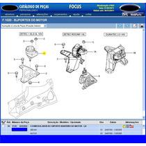 Coxim Direito D Motor Focus Zetec 1.8 2.0 16v 00a05