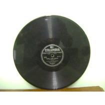 Disco Antigo 78 Rpm Luiz Claudio Saudade Chegando