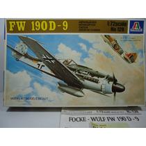 Avião Focke-wulf Fw 190 D9-ii War Bonito Kit Italeri 1/72