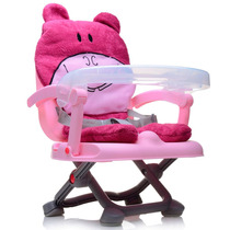 Cadeira De Alimentação Portátil Bichinho Hipopótamo Dican Be