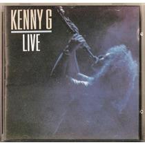 099 Cdm- Cd 1990- Kenny G- Live- Orquestra Instrumental