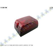 Lanterna Lateral C/ Soquete Interno 1polo Vermelha