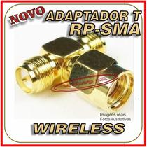 Duplicador T Rp-sma Antena Wireless