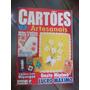 Cartões Artesanais - Cartões Com Miçangas/ Ponto Cruz