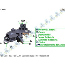 Regulador De Voltagem 14v Cummins F250 F350 - Ikro