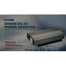 Inversor 2000w Com 4000w De Pico 12v Para 110v Super Voyager