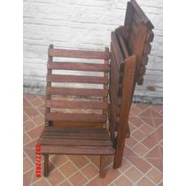 Cadeiras Em Madeira Maciça