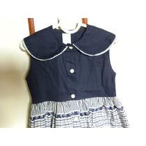 Vestido Algodão Infantil -tamanho 3 Queima De Estoque Lindo!