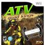 Box Atv Quad Kings Lacrado Para Nintendo Wii Com Volante