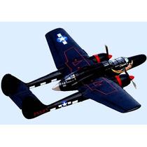Planta Northrop P-61 Black Widow Nightfighter Gigante Giant