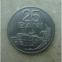 5430 Republica Popular Romenia 25 Bani, 1966, Inox, 22mm